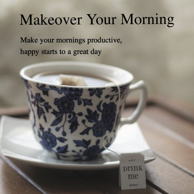 Makeover Your Mornings in March!