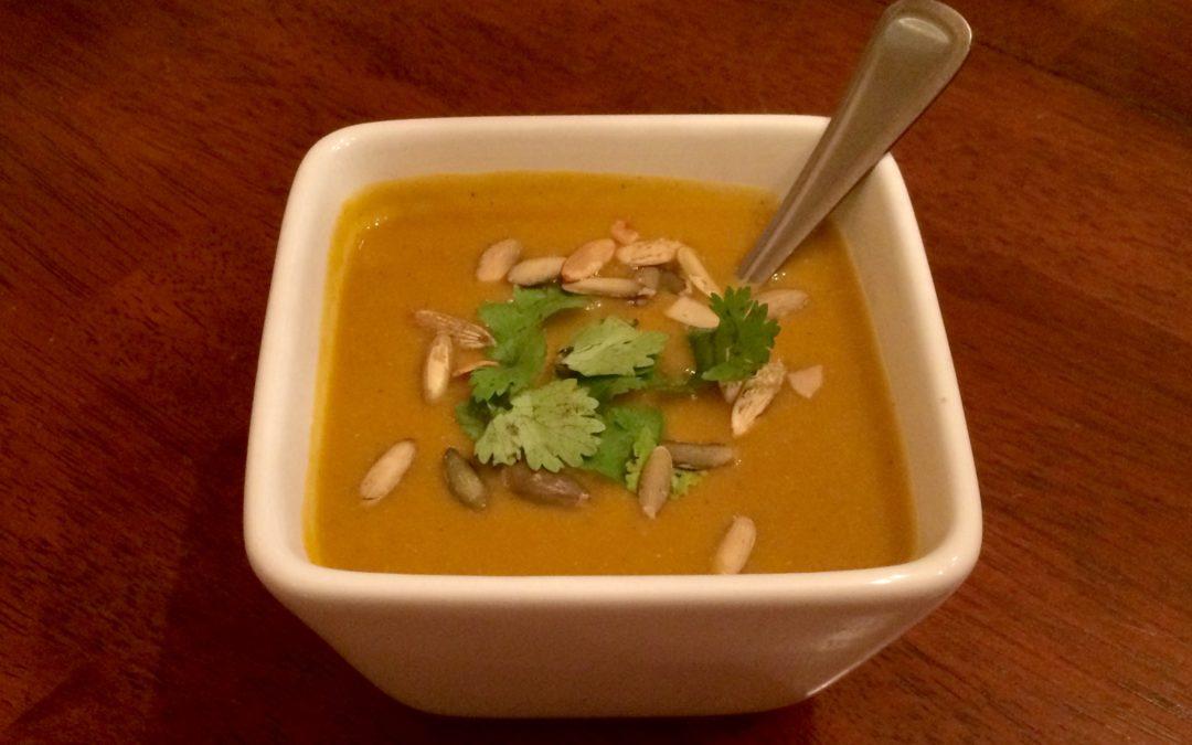 Coconut Curry Squash Soup Recipe