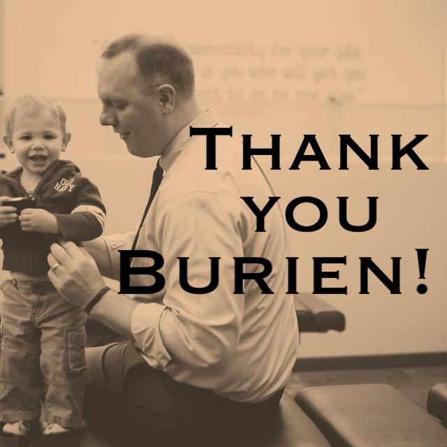Thank you Burien!