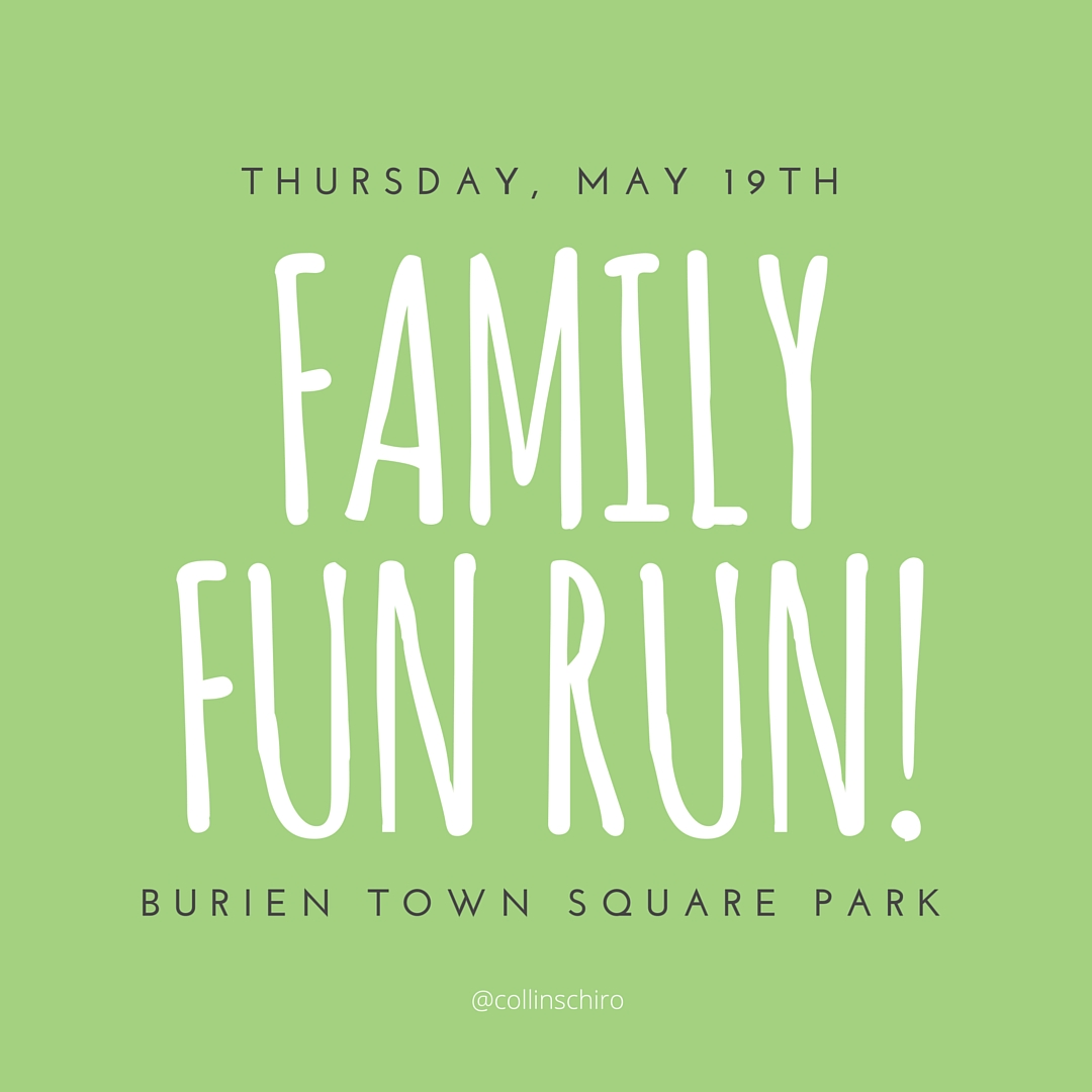 Move Your Feet at the Burien Family Fun Run and Scavenger Hunt | www.burienwellness.com