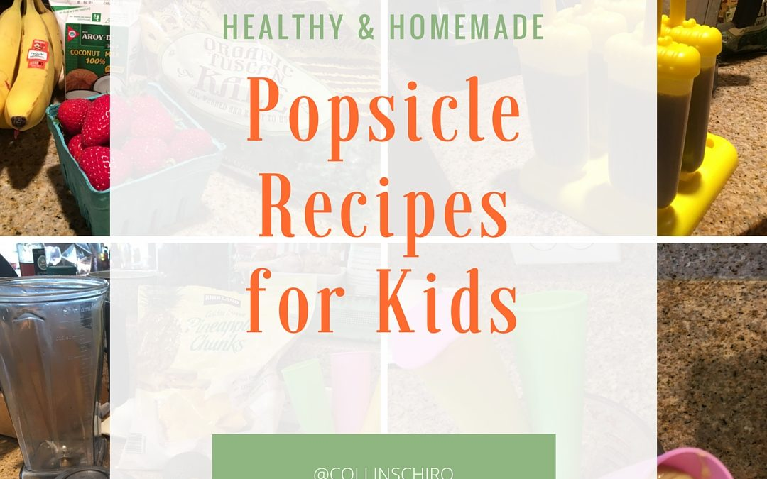 Healthy & Homemade Popsicle Recipes for Kids